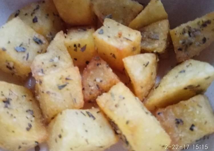 Potato garlic instant