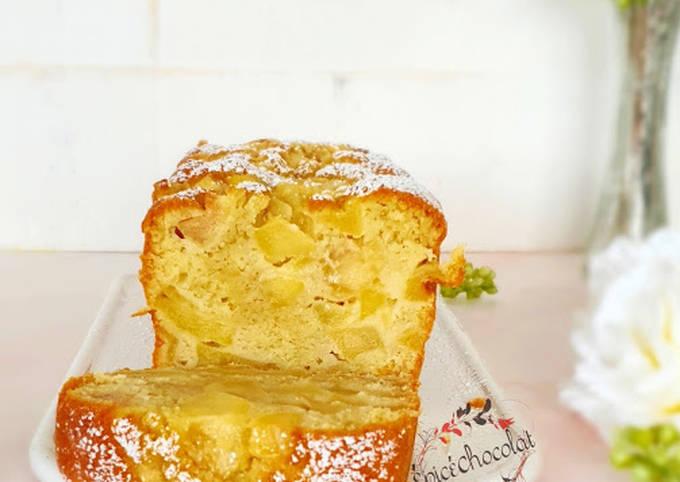 Cake fondantissime aux pommes