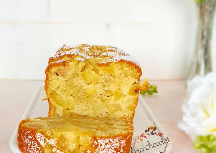 Recette Des Cake fondantissime aux pommes