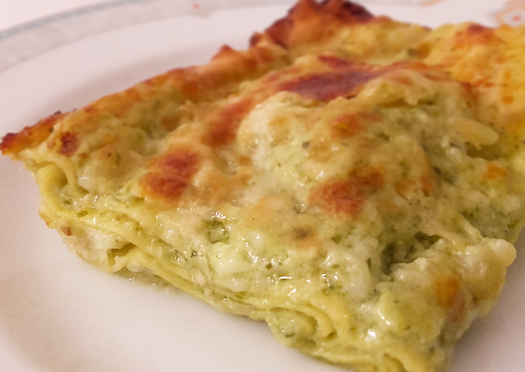 Recipe: Yummy Lasagna with Pesto 🍃