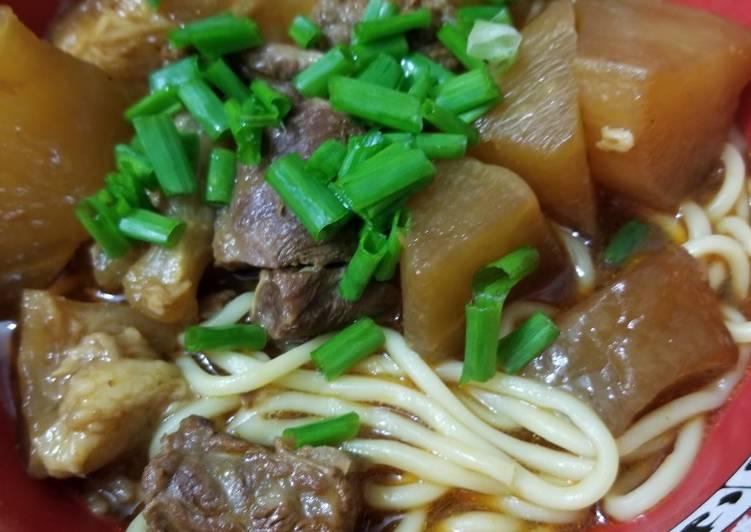 Taiwanese Beef Brisket Noodles 台灣牛肉麵