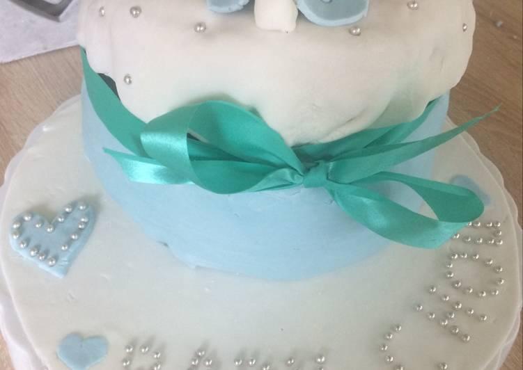 Le moyen le plus simple de Préparer Délicieuse Gâteau babyshower 👶