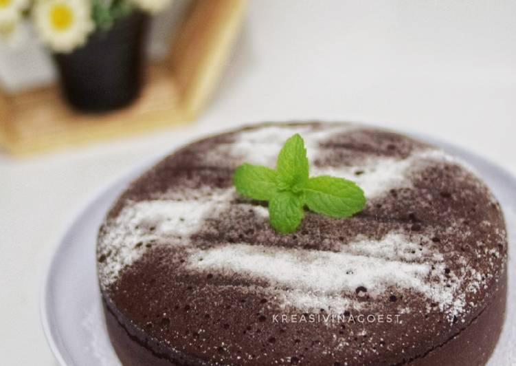 Cake Coklat Kukus (cake dasar)