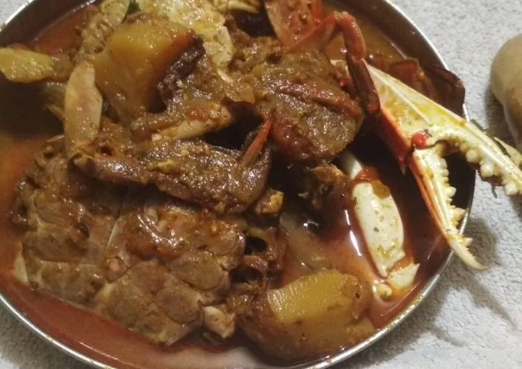 Recipe of Super Quick Homemade Crab potato gravy