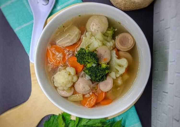 Sup Segar Bakso Sosis