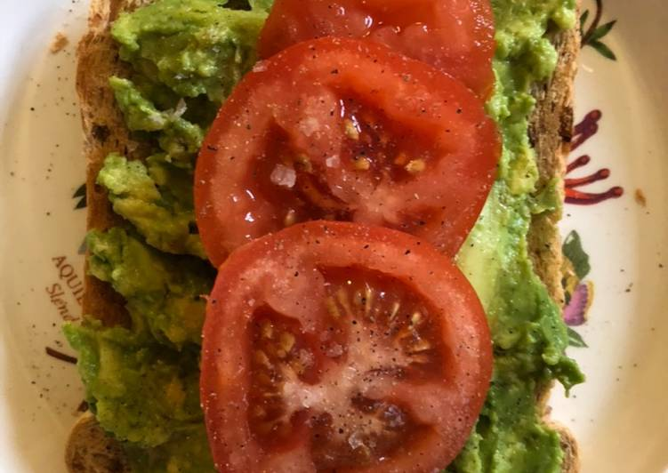 Recipe of Ultimate Smashed Avocado on toast