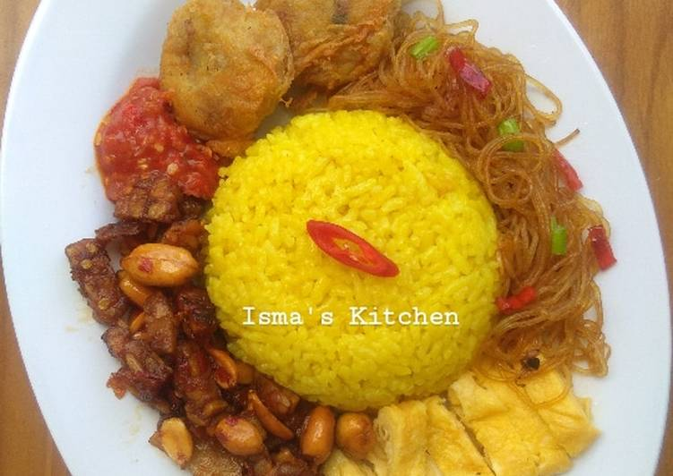 Nasi Kuning Rice cooker #week11
