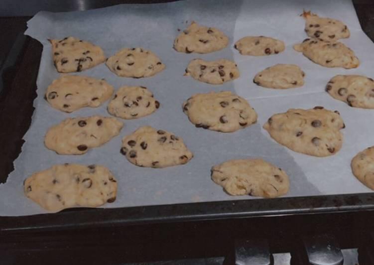 La Délicieuse Recette du Cookies banane chocolat