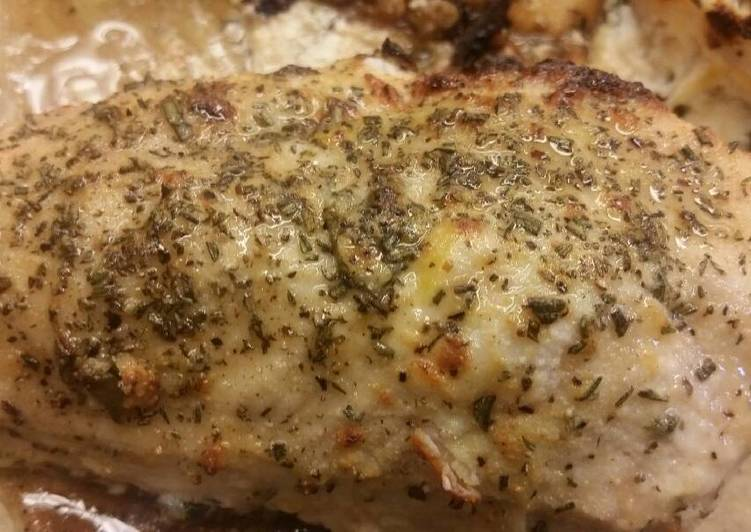 Ricotta & Honey Stuffed Chicken Breast