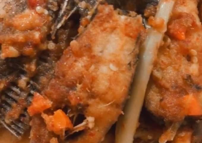 Bahan-bahan Ikan bumbu acar Sederhana Untuk Jualan