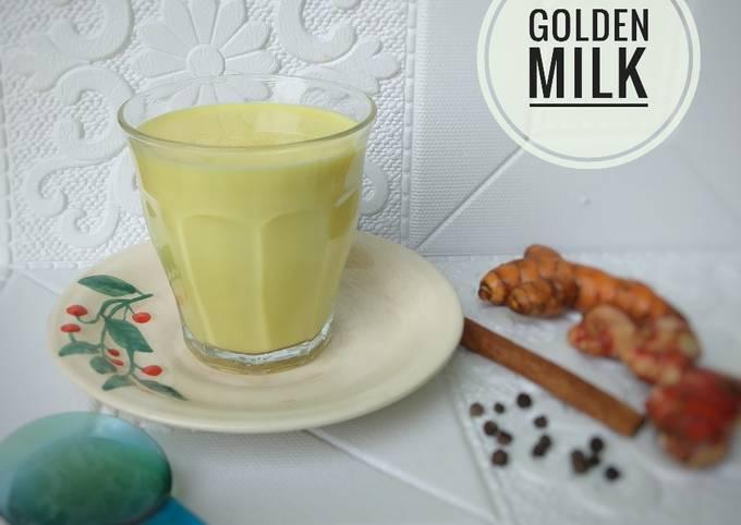 278. Golden Milk / Susu Kunyit