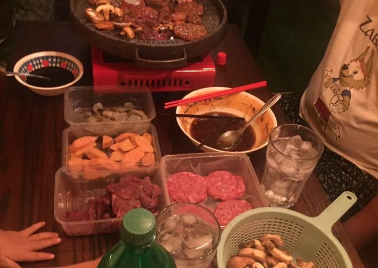 Bumbu bakar2 ala AYCE yakiniku (all you can eat)