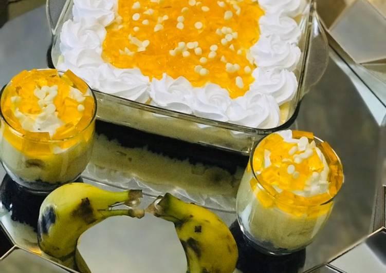 Easiest Way to Prepare Favorite Banana custard cream cheese pie
