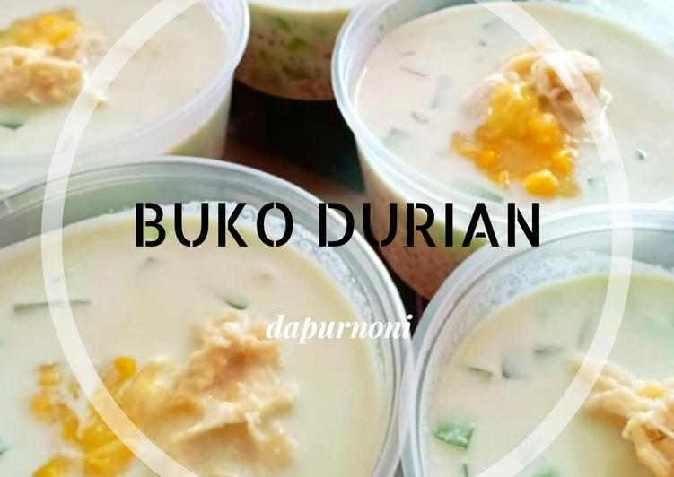 Buko Durian Creamy (Maraton Ramadhan)