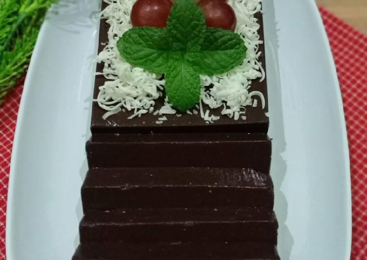 Resep 19.💞Puding Coklat Tiramisu💞, Endes