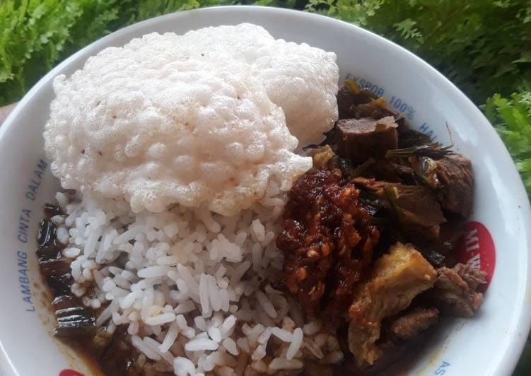 Resep Rawon daging sapi endulll😍, Lezat Sekali