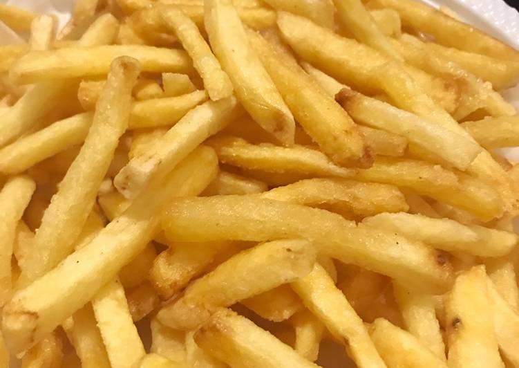 French Fries / Kentang Goreng ala MCD