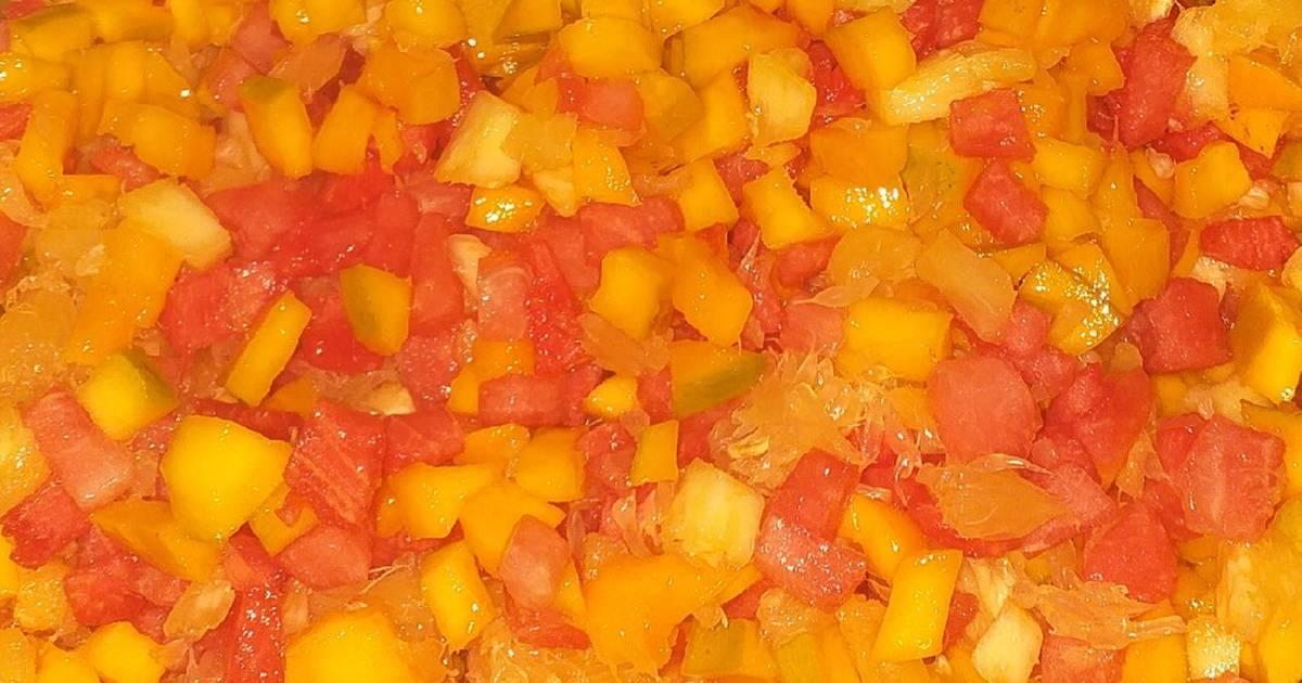 Yummy Fruit Salad Recipe By Zaynerb Abdullahi Godowoli Cookpad
