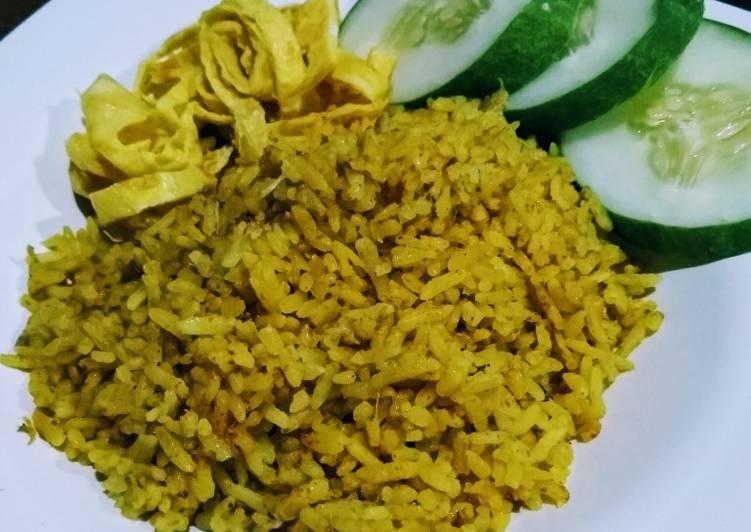 Nasi Biryani Rice Cooker Ala Pawon Tayo