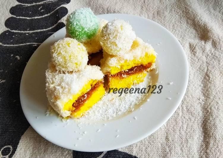 Klepon cake mini durian
