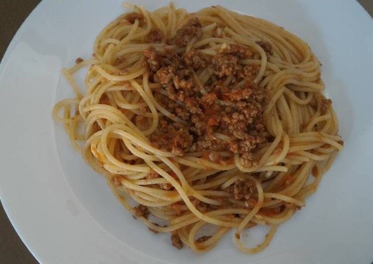 Ordinary Spaghetti Bolognese