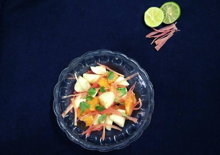 Jicama Salad (Shank aloo salad)
