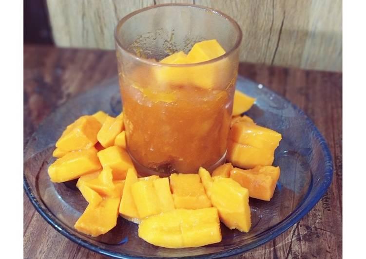 Easiest Way to Make Award-winning Ripe mango jam