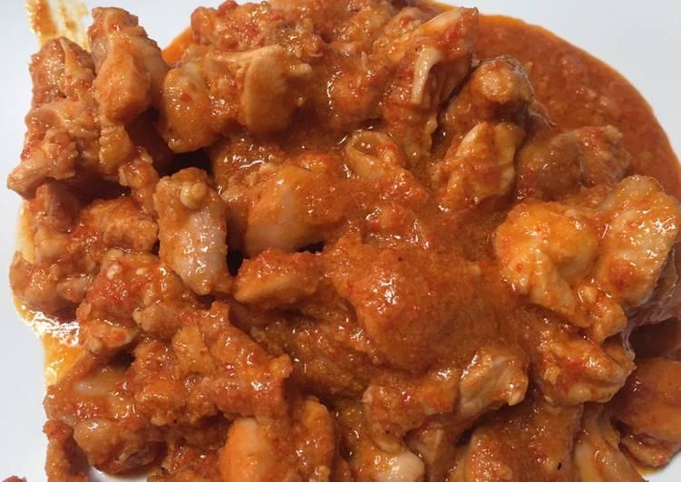 Sambel goreng ayam fiber cream