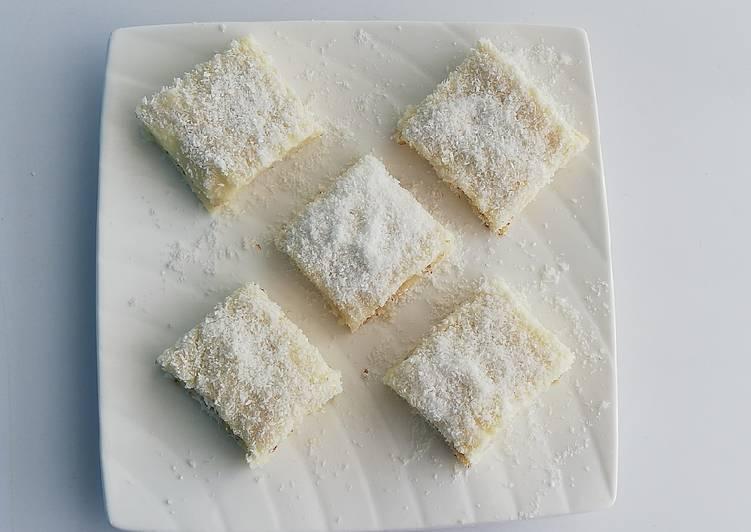 Dessert façon lokoum