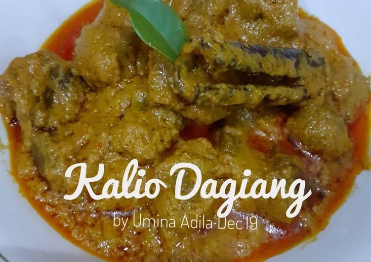 Kalio Dagiang Jo Kantang / Kalio Daging Kentang #Tips #NoMSG
