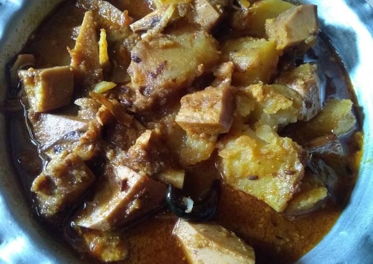 Recipe of Award-winning Raw jackfruit curry