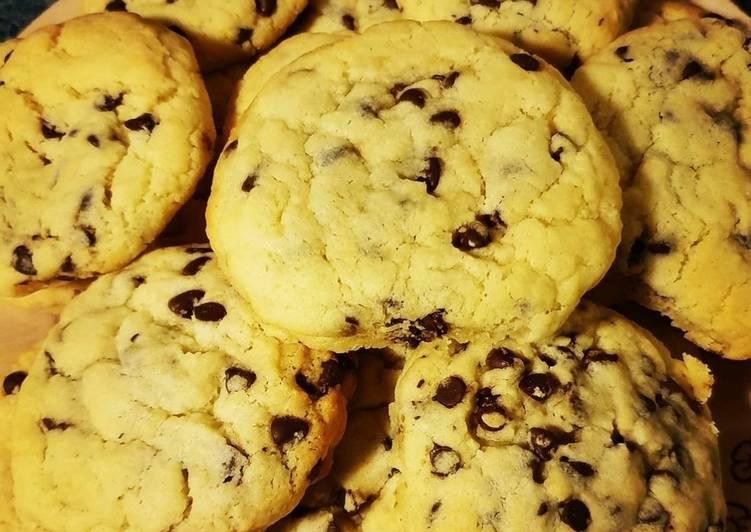 Recette Délicieuse Cookies 🍪 cœur Nutella