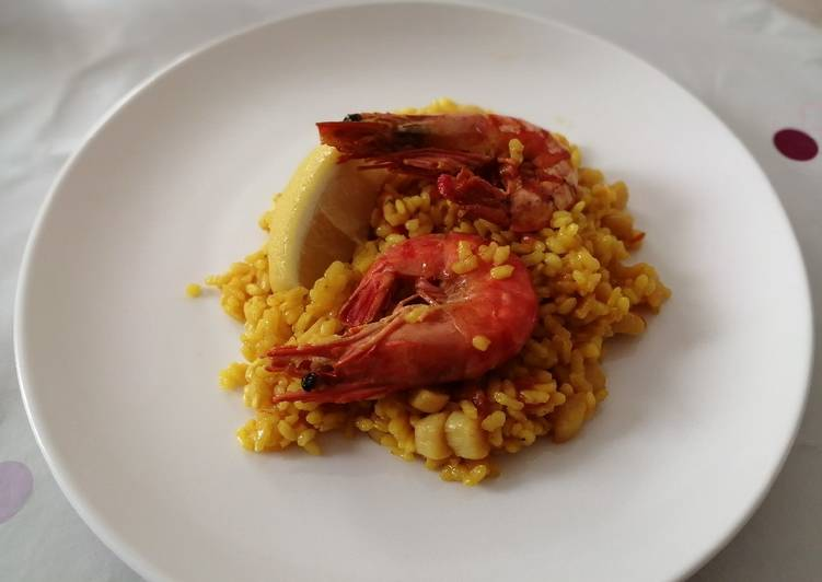 Seafood Paella 🥘