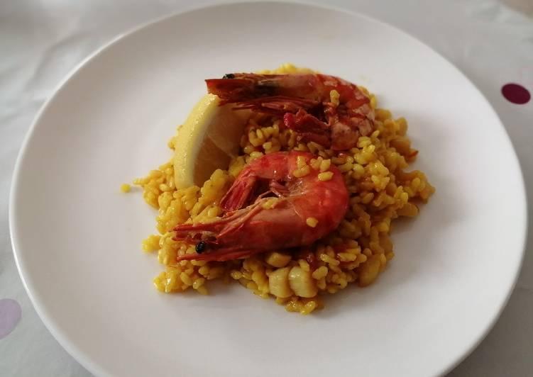 Recipe of Ultimate Seafood Paella 🥘