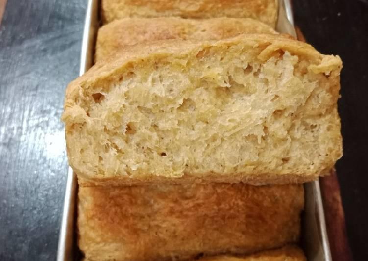 Ampas terigu atau roti gula merah kelapa