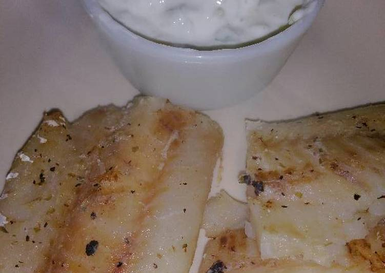 Recipe: Tasty Greek-style Grilled Fish