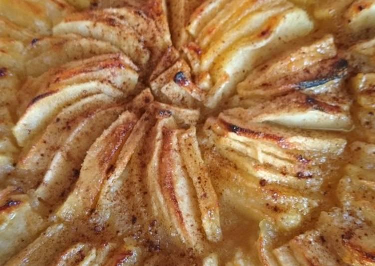 Comment faire Cuire Appétissante Tarte pommes