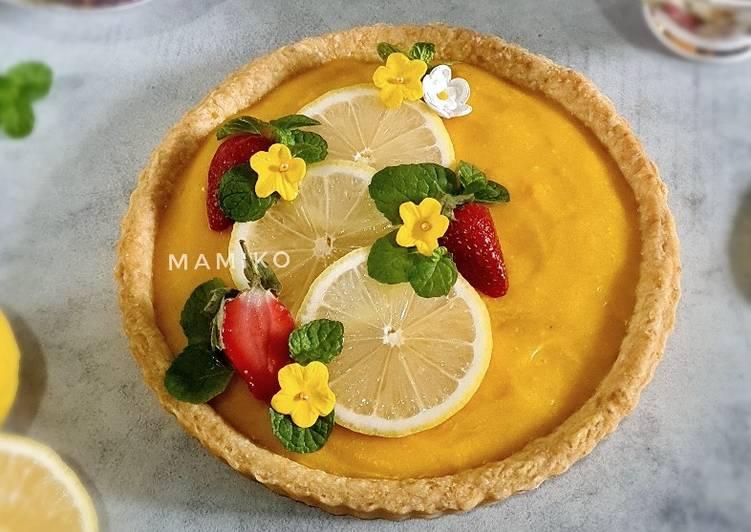 Resep Lemon Tart Oleh Fany Dapur Mamiko Cookpad