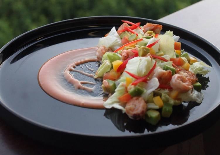 Resep Avocado Shrimp Salad Oleh Leonardosingall Cookpad