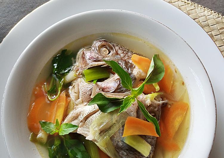 Sup Kepala Ikan Mujair