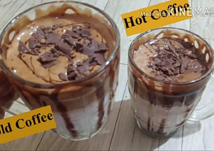 Chocolate Dalgona Coffee/ Hot & Cold Dalgona Coffee
