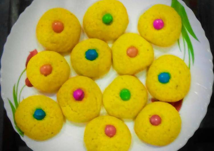 Step-by-Step Guide to Prepare Most Popular Eggless Gems Cookies