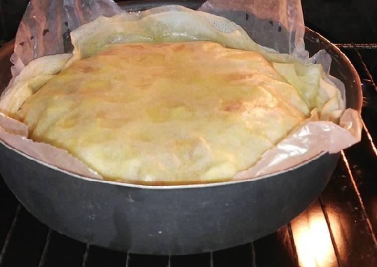 recette Pastilla poulet, pommes, miel le délicieux