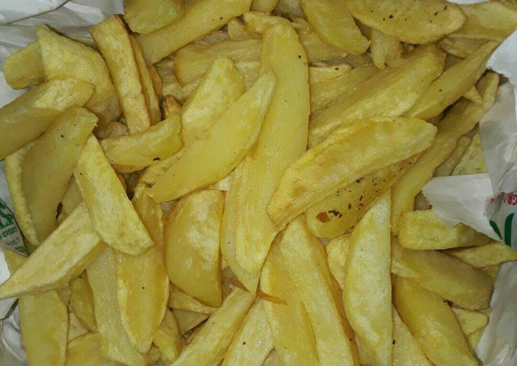 How to Make Perfect Low fat chips