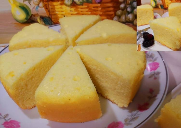 Resep Bolu Rice Cooker.Simple Banget!! Cuma Butuh 4 Bahan