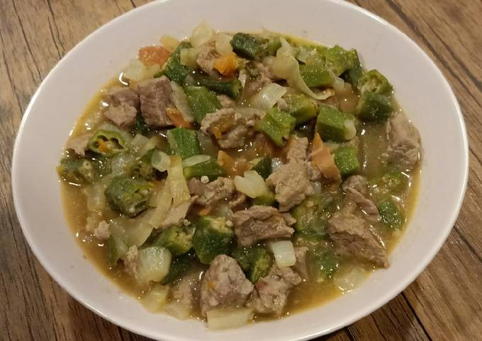 Okra with Beef