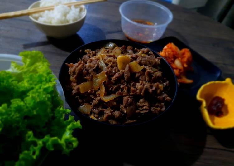 Simple Beef Teriyaki