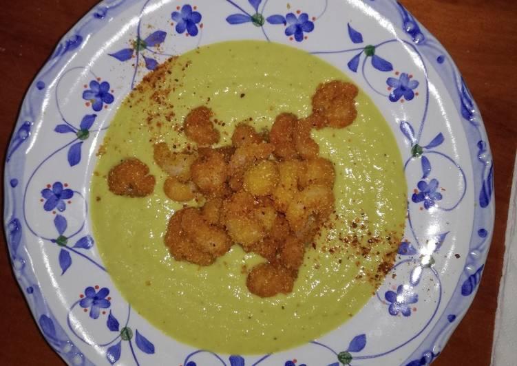 Easiest Way to Cook Perfect Tempura di Gamberetti in crosta di polenta su un letto di Maionese agli asparagi