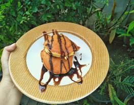 Pancake terlembut | pancake souflle simple untuk sarapan