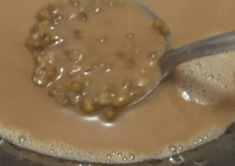 Bubur kacang ijo simple